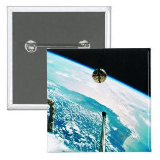 Satellite Orbiting Earth 7 Button