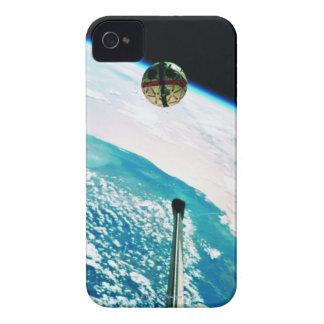Satellite Orbiting Earth 7 iPhone 4 Case-Mate Cases