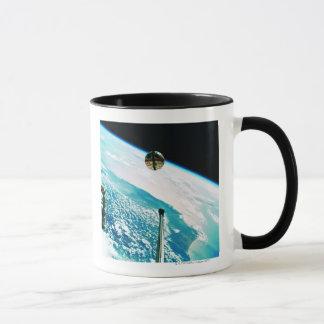 Satellite Orbiting Earth 7 Mug