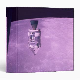 Satellite Orbiting Earth Binder