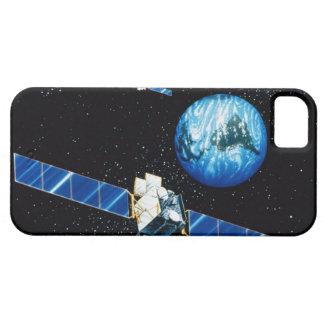 Satellite orbiting earth iPhone SE/5/5s case