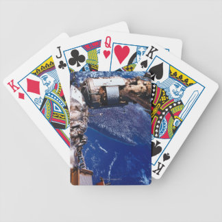 Satellite Orbiting in Space 2 Bicycle Playing Cards