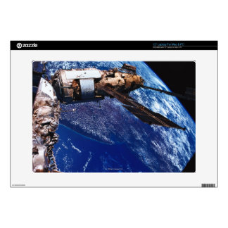 "Satellite Orbiting in Space 2 Decal For 15"" Laptop"