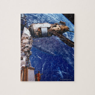 Satellite Orbiting in Space 2 Jigsaw Puzzle