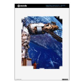 Satellite Orbiting in Space 2 Decals For iPad 3