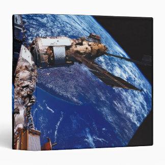 Satellite Orbiting in Space 2 Vinyl Binder
