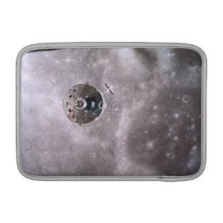 Satellite Orbiting in Space MacBook Sleeve