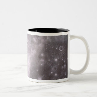Satellite Orbiting in Space Two-Tone Coffee Mug