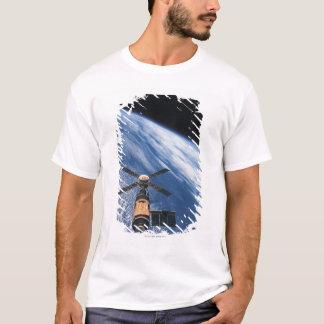 Satellite Orbiting Space T-Shirt