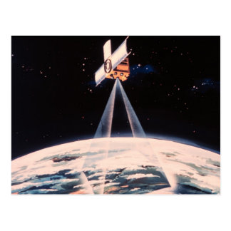 Satellite Triangulation Post Cards