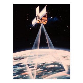 Satellite Triangulation Postcards