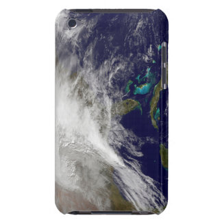 Satellite view of a massive winter storm Case-Mate iPod touch case
