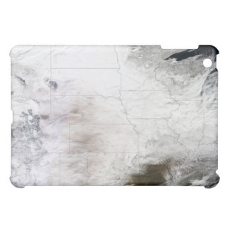 Satellite view of a massive winter storm over U Case For The iPad Mini
