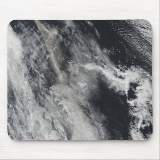 Satellite view of an ash plume 2 mouse pad