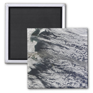 Satellite view of an ash plume 3 2 inch square magnet
