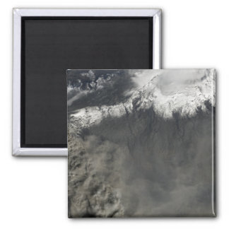 Satellite view of an ash plume 4 2 inch square magnet
