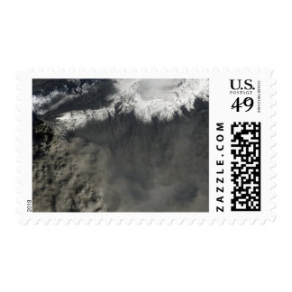 Satellite view of an ash plume 4 postage