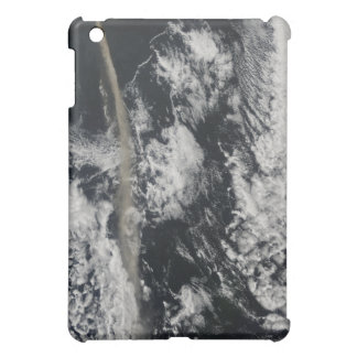 Satellite view of an ash plume iPad mini cover