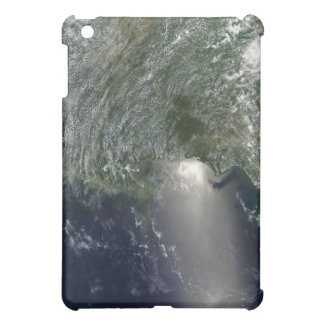 Satellite view of an oil spill iPad mini cover