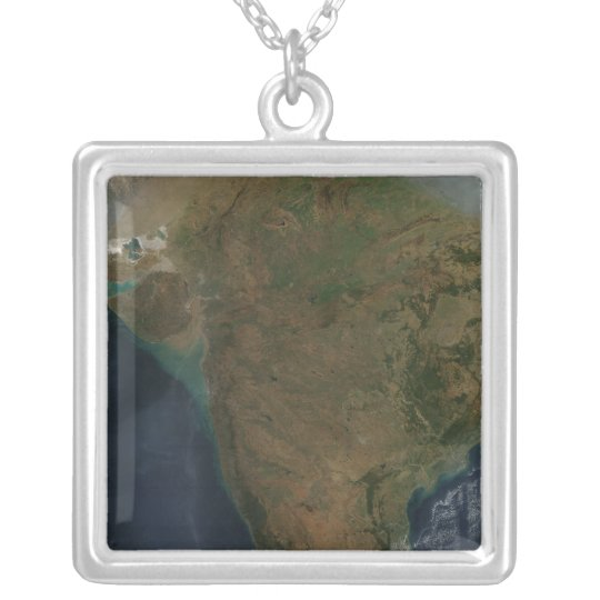 Satellite view of Central India Silver Plated Necklace