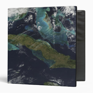 Satellite view of Cuba 3 Ring Binder
