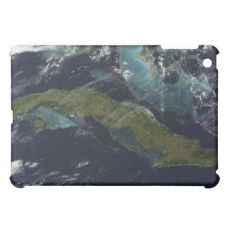 Satellite view of Cuba iPad Mini Cover