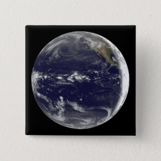 Satellite view of Earth Button