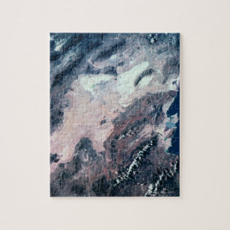 Satellite View of Earth Jigsaw Puzzle
