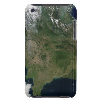 Satellite view of France Barely There iPod Cover