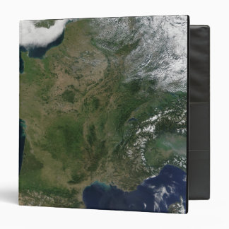 Satellite view of France 3 Ring Binder