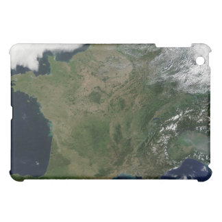 Satellite view of France iPad Mini Case