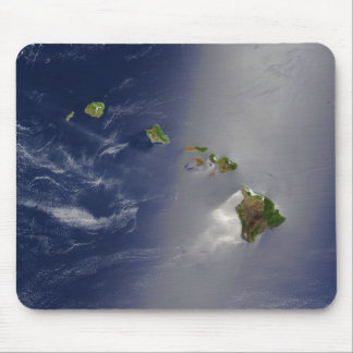Satellite View of Hawaii Archipelago Islands Mouse Pad
