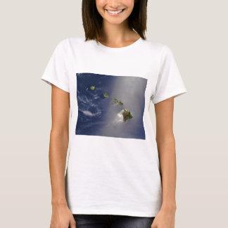 Satellite View of Hawaii Archipelago Islands T-Shirt