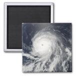 Satellite view of Hurricane Celia Refrigerator Magnets