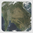 Satellite view of Indochina Square Sticker