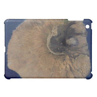 Satellite view of Mount Fogo iPad Mini Cases