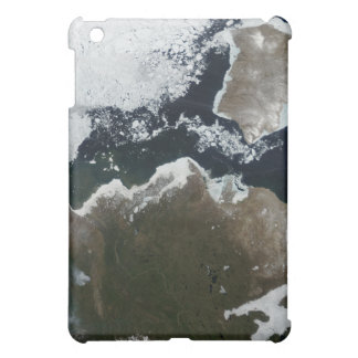 Satellite view of Northwest Canada Cover For The iPad Mini