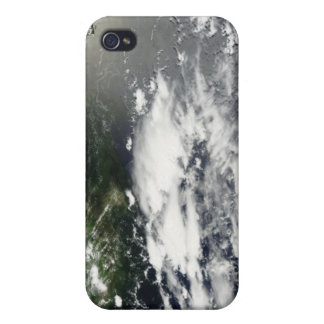 Satellite view of oil leaking 2 cover for iPhone 4