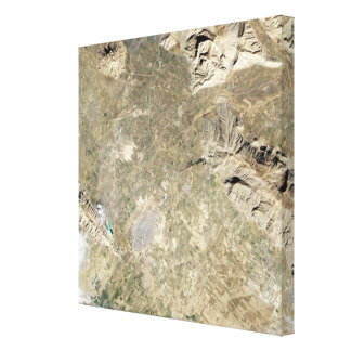 Satellite view of Persepolis Stretched Canvas Prints