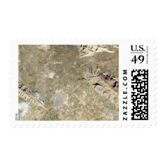 Satellite view of Persepolis Postage Stamp