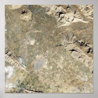Satellite view of Persepolis Poster
