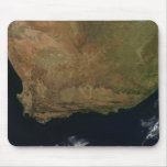 Satellite view of South Africa Mousepad
