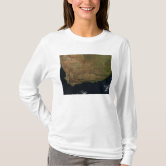 Satellite view of South Africa T-Shirt