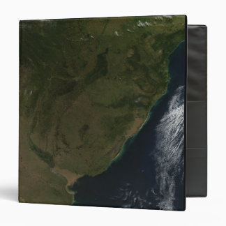 Satellite view of South America 3 Ring Binders