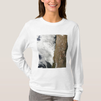 Satellite view of the Andes Mountains T-Shirt