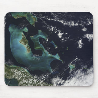 Satellite view of the Bahama Islands Mouse Pad