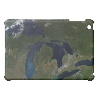 Satellite view of The Great Lakes Case For The iPad Mini