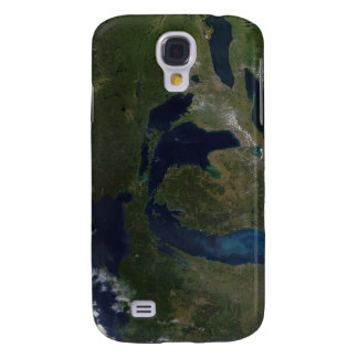 Satellite view of The Great Lakes Samsung Galaxy S4 Case