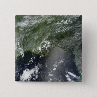 Satellite view of the Gulf of Mexico 2 Pinback Button
