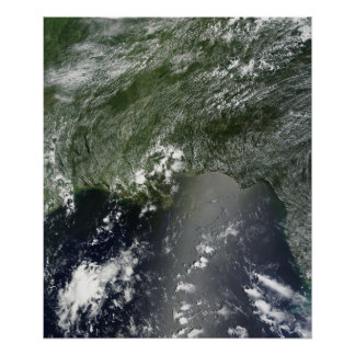Satellite view of the Gulf of Mexico 2 Poster
